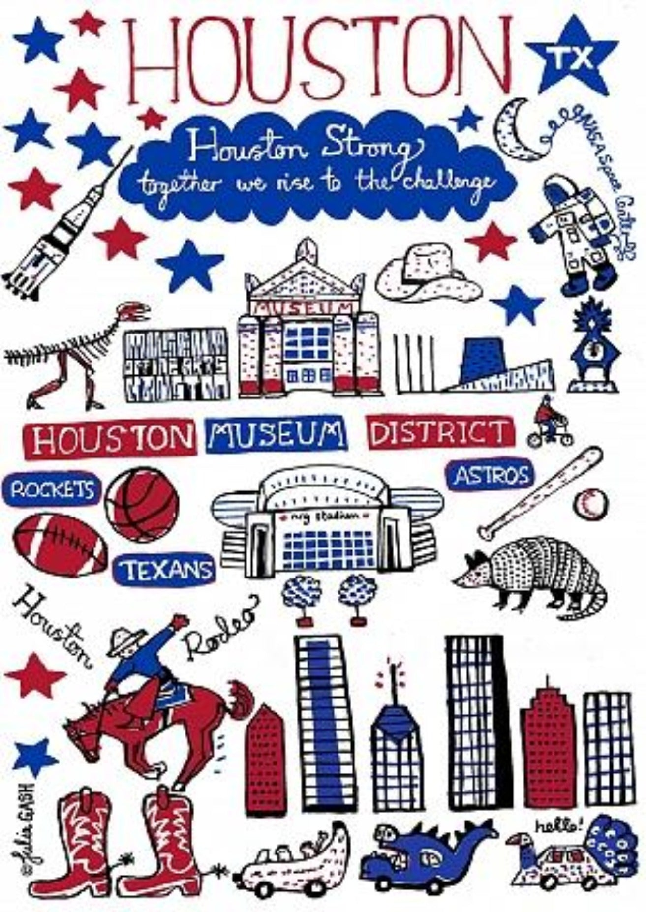 Houston Artwork - Julia Gash