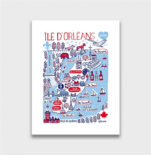 Ile D'Orleans Artwork - Julia Gash