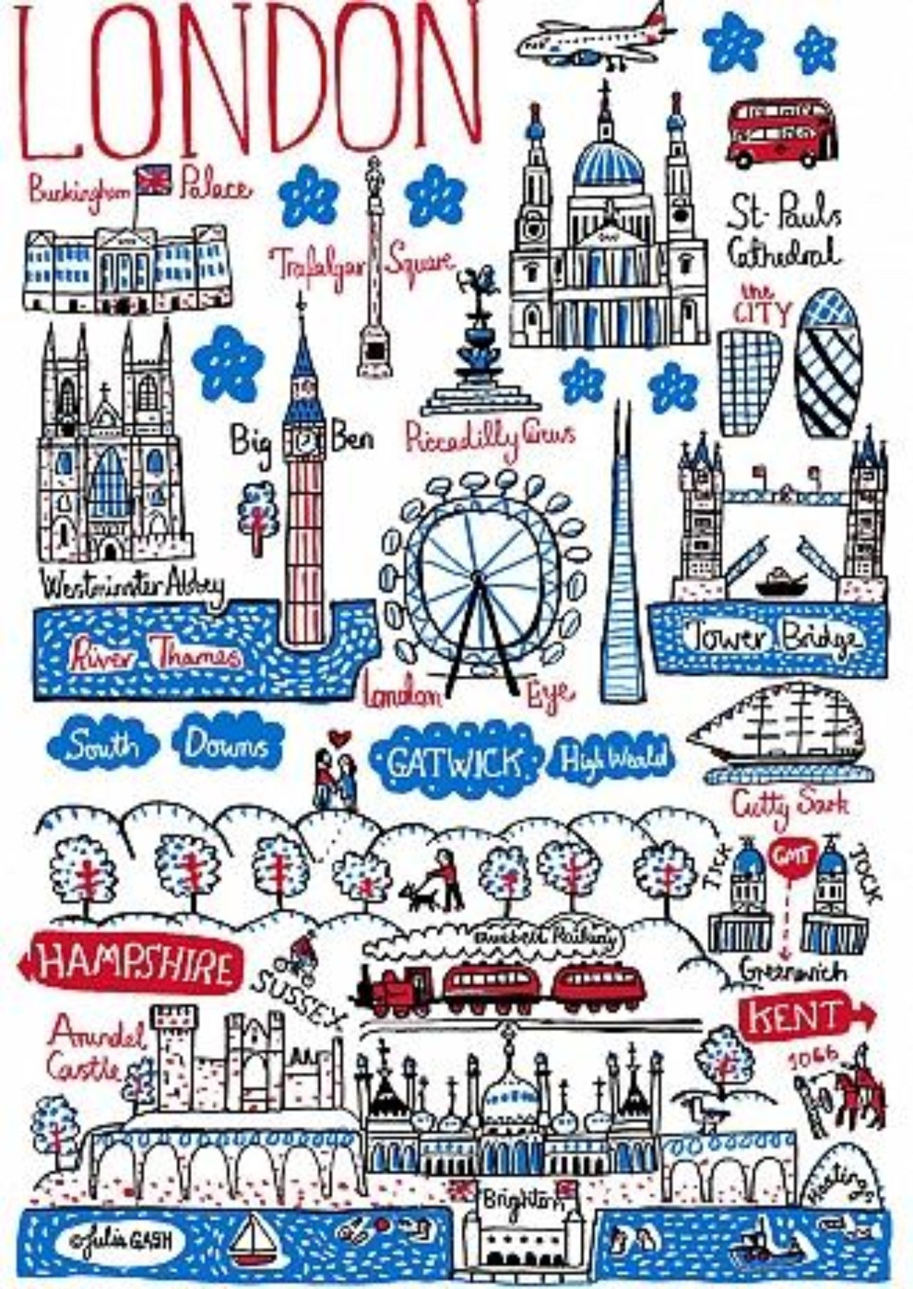 London and The South Artwork