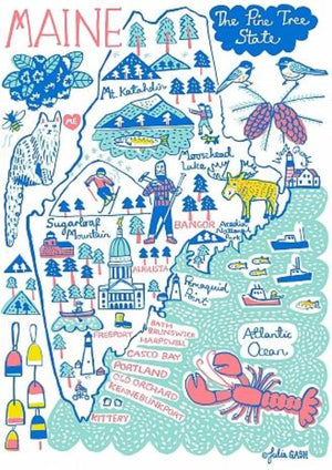 Maine Art Print - Julia Gash