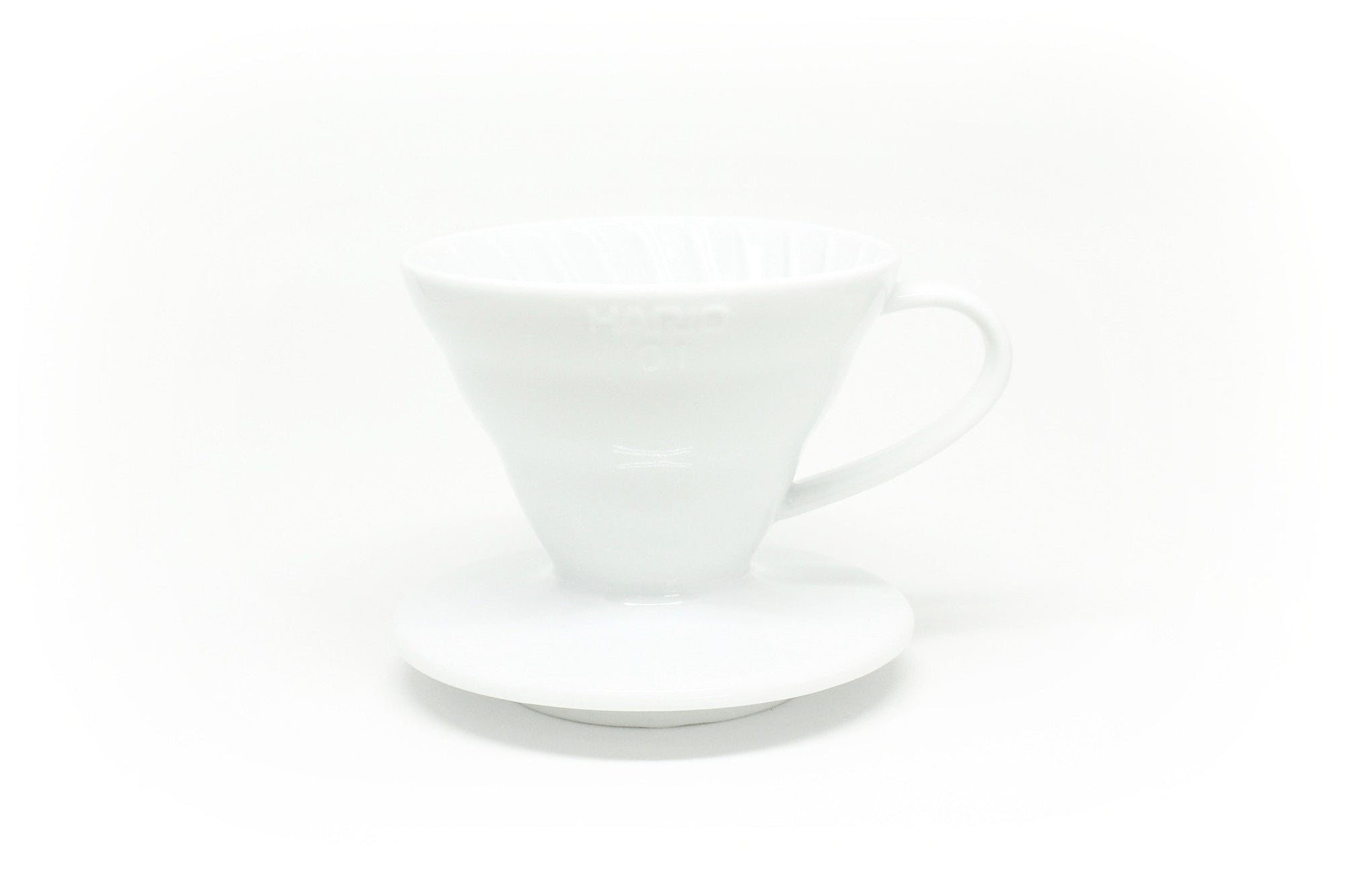 V60 Ceramic Coffee Dripper Matt White