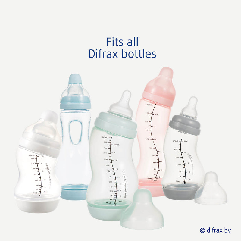 Valve S-baby bottle, fits all Difrax bottles