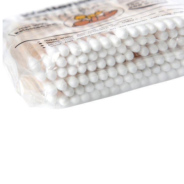 100% Cotton buds - swabs - wood - 100 pack