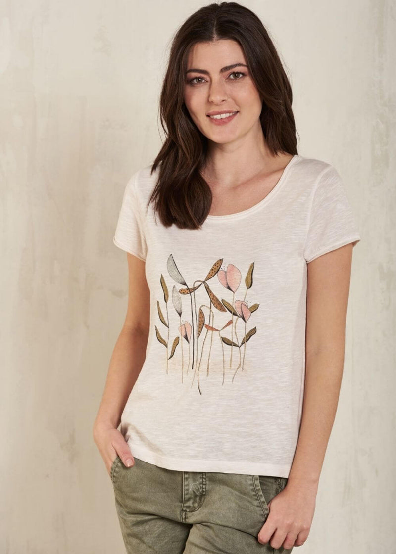 NILE | Organic Cotton T-Shirt in Powder Pink