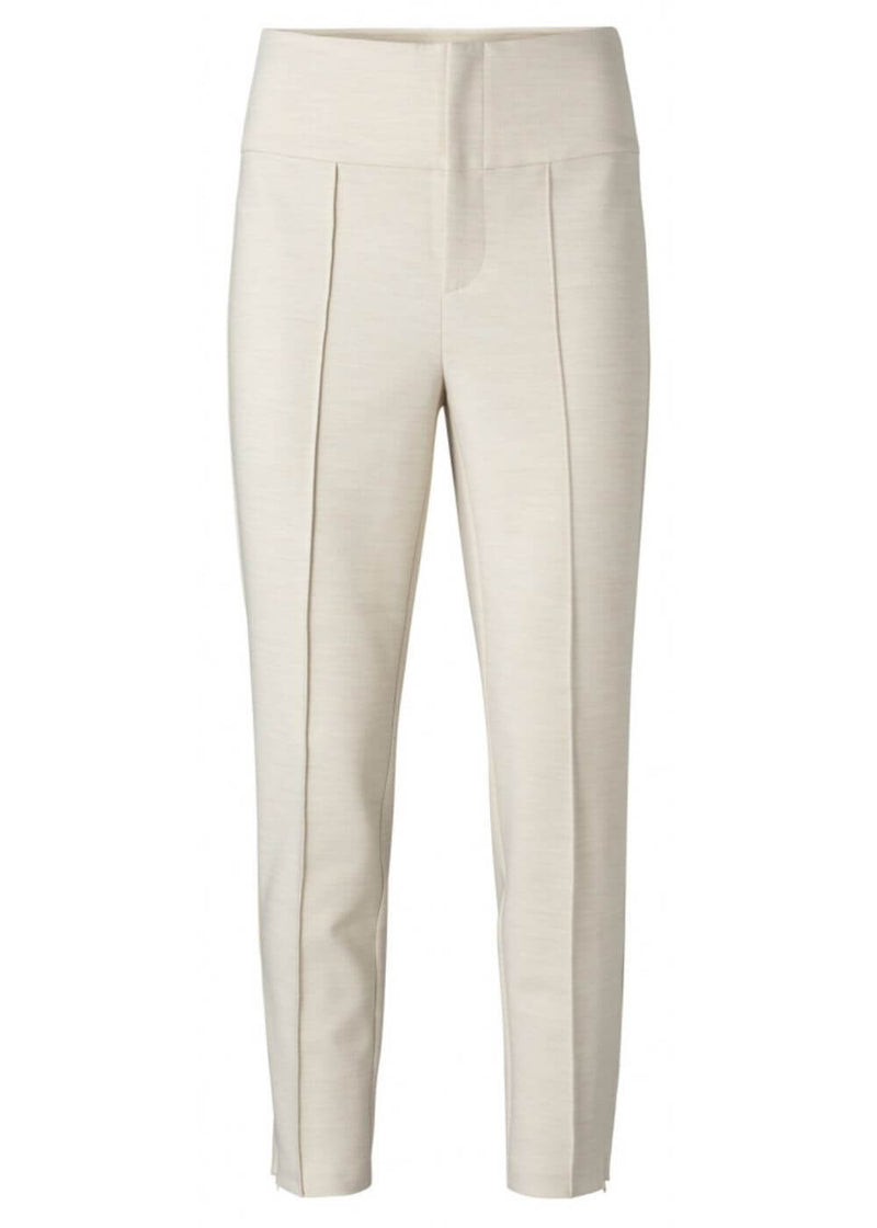 YAYA | High Waist Stretchy Trouser with Seam