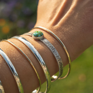 Oval bangles, Three Thicknesses