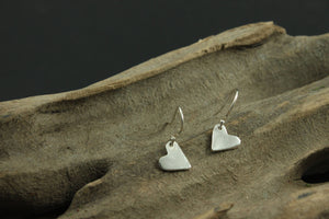 Small Sterling Silver Smooth Earrings
