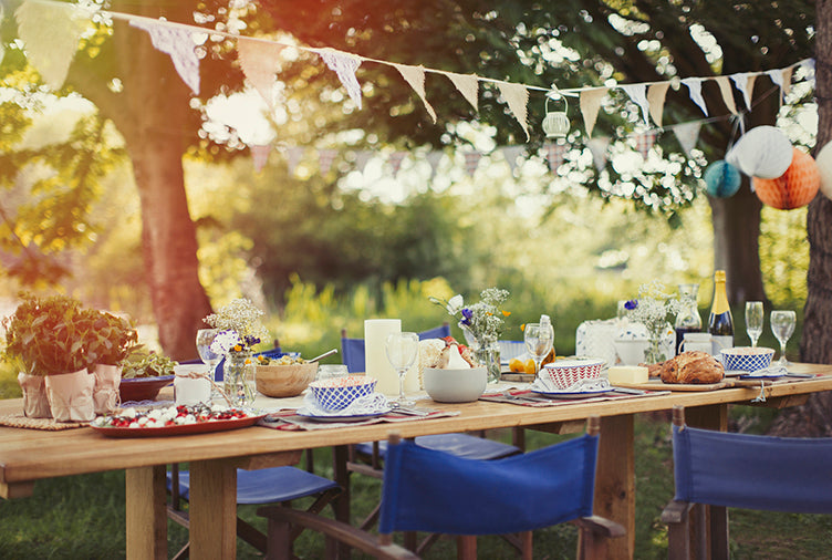 backyard party entertaining july cancer events