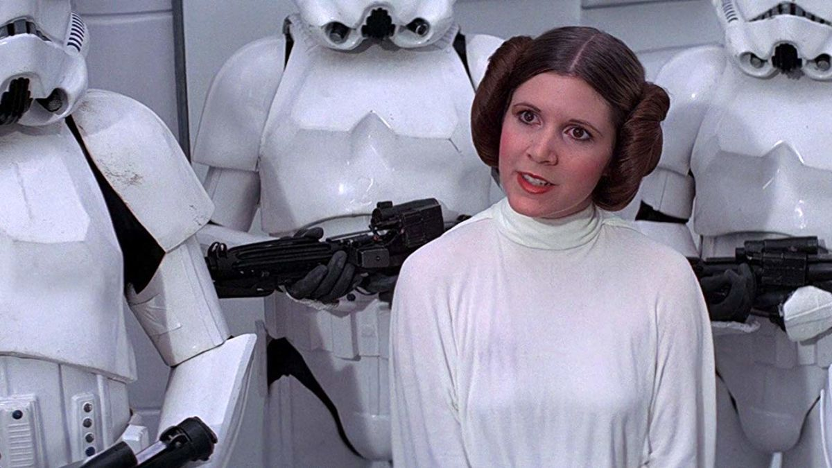 Princess Leia in Star Wars is an Aries Carey Fisher