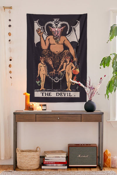 The Devil Tapestry tapestry NirvanaThreads - YYT
