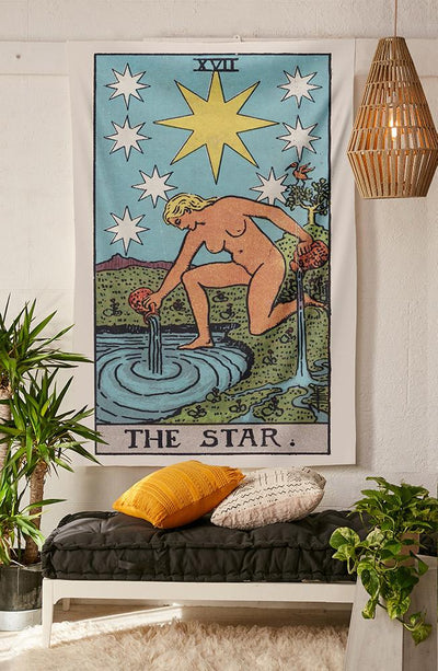 The Star Tapestry (RWS) tapestry NirvanaThreads - YYT
