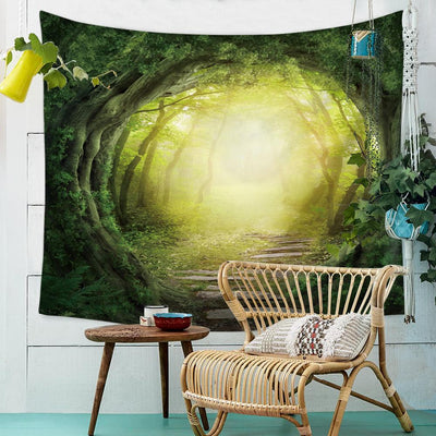 Hobbit Path Tapestry-nirvanathreads
