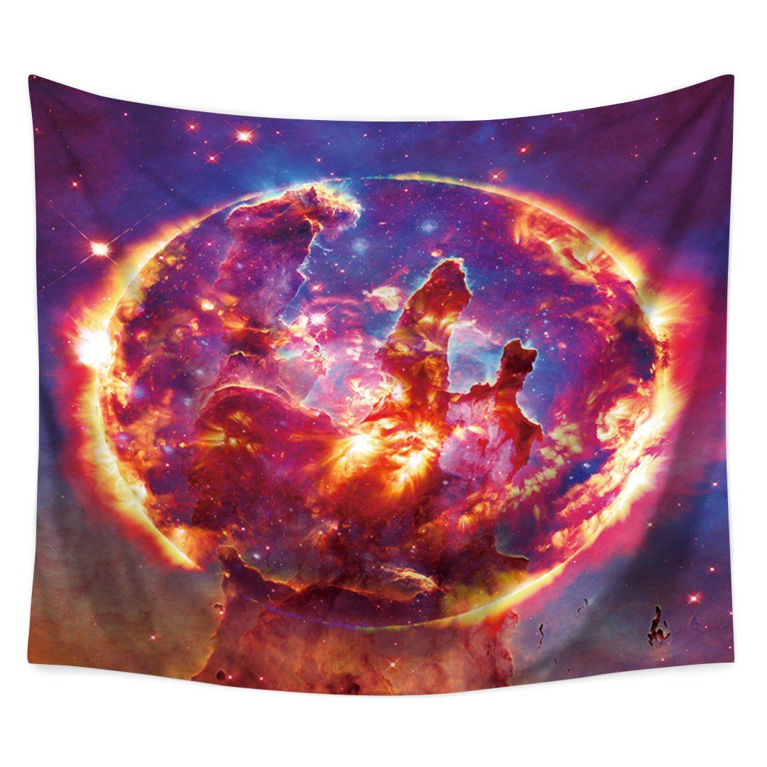 Ring of Fire Tapestry-nirvanathreads