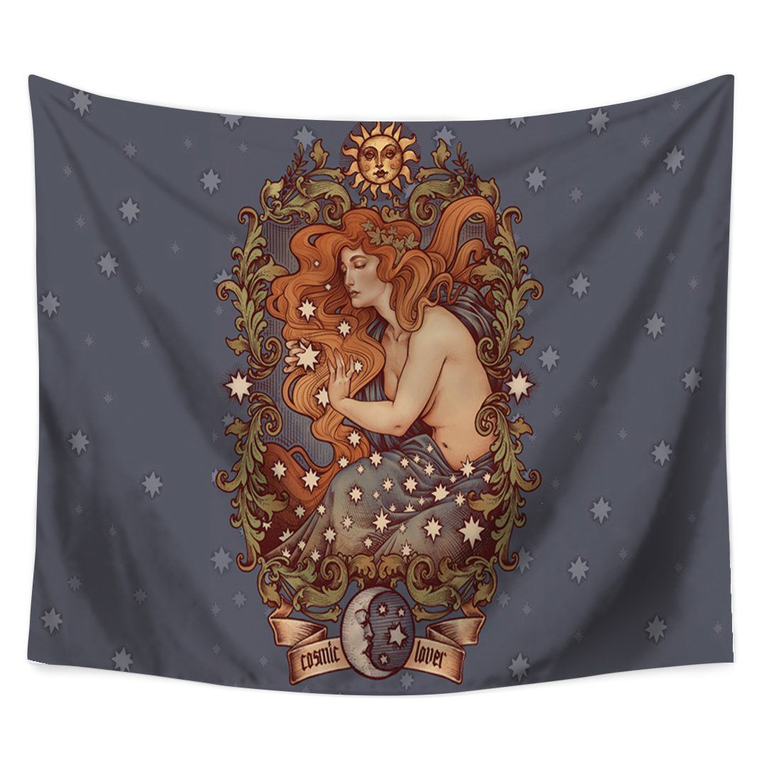 Dreaming Siren Tapestry-nirvanathreads