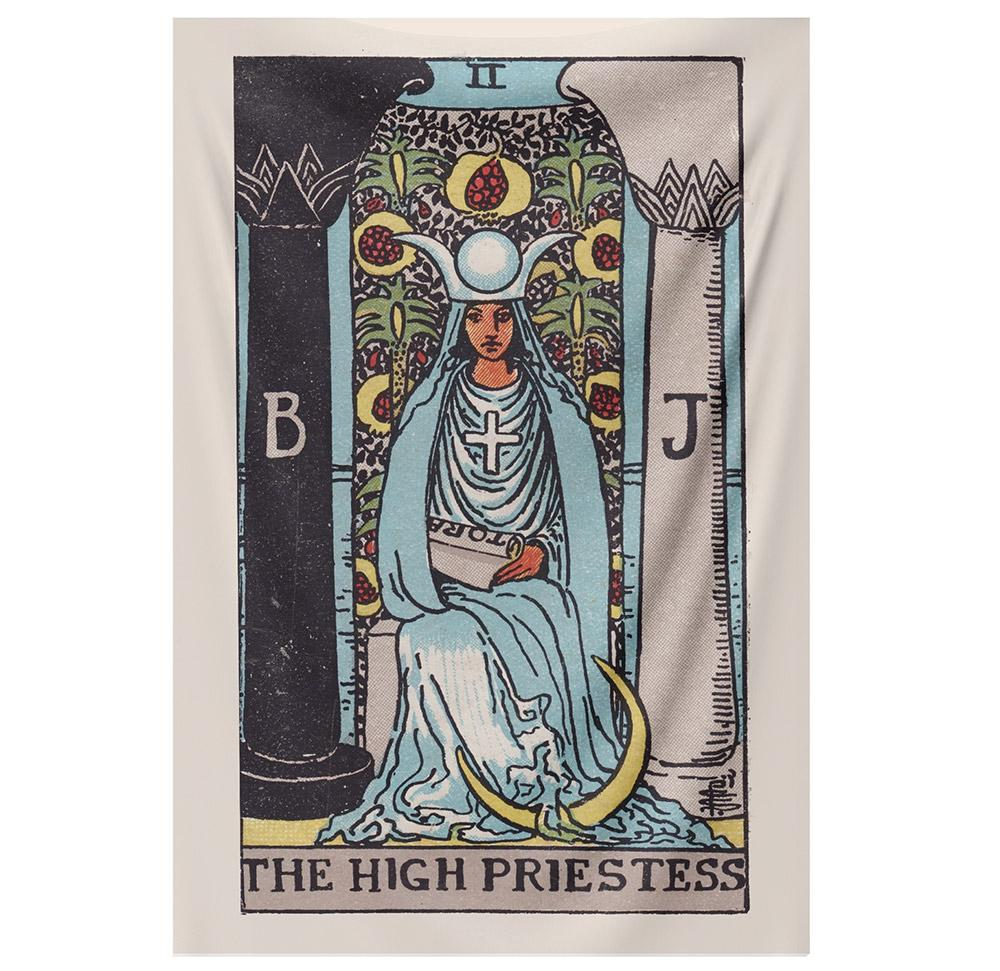 The High Priestess Tapestry tapestry NirvanaThreads - YYT