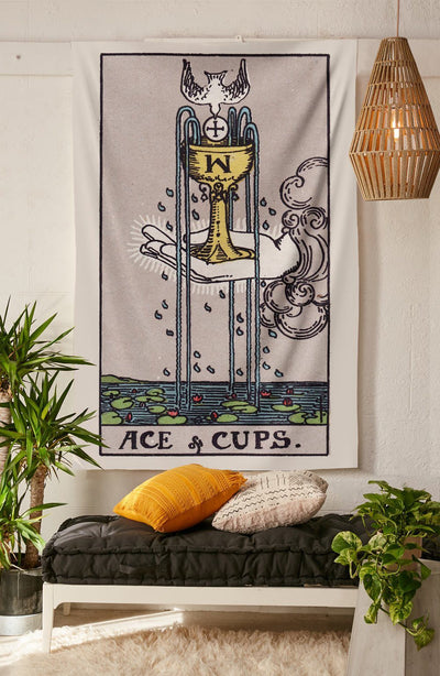Ace of Cups Tapestry tapestry NirvanaThreads