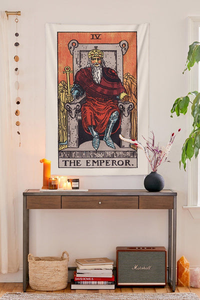 The Emperor Tapestry tapestry NirvanaThreads - YYT