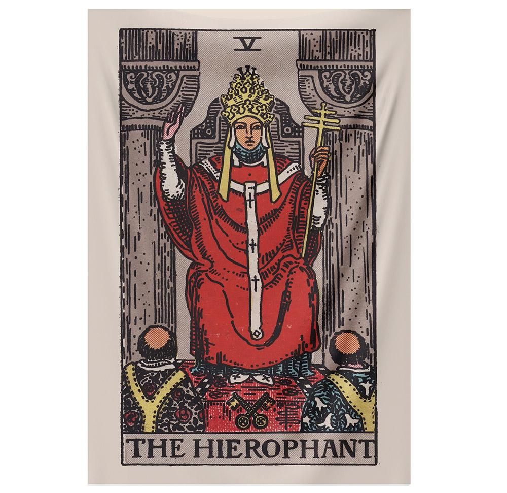 The Hierophant Tapestry tapestry NirvanaThreads - YYT