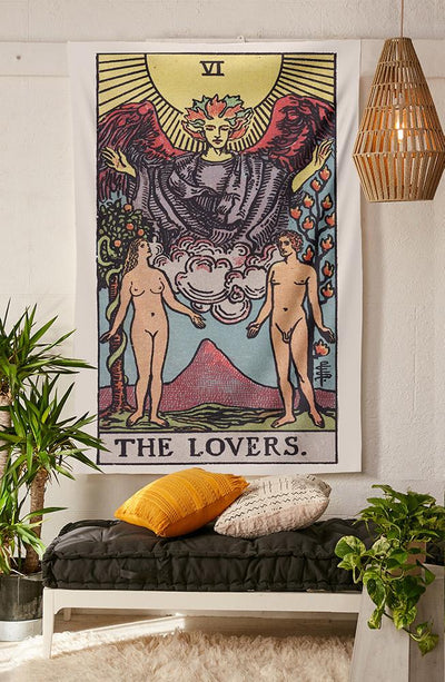 The Lovers Tapestry tapestry NirvanaThreads - YYT