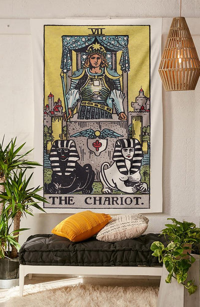 The Chariot Tapestry tapestry NirvanaThreads - YYT