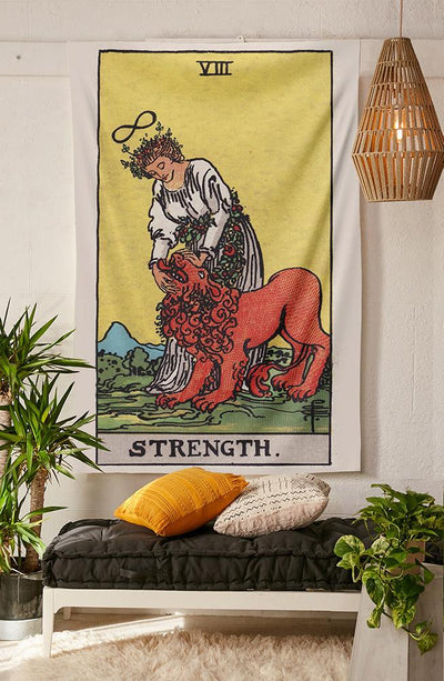 Strength Tapestry tapestry NirvanaThreads - YYT
