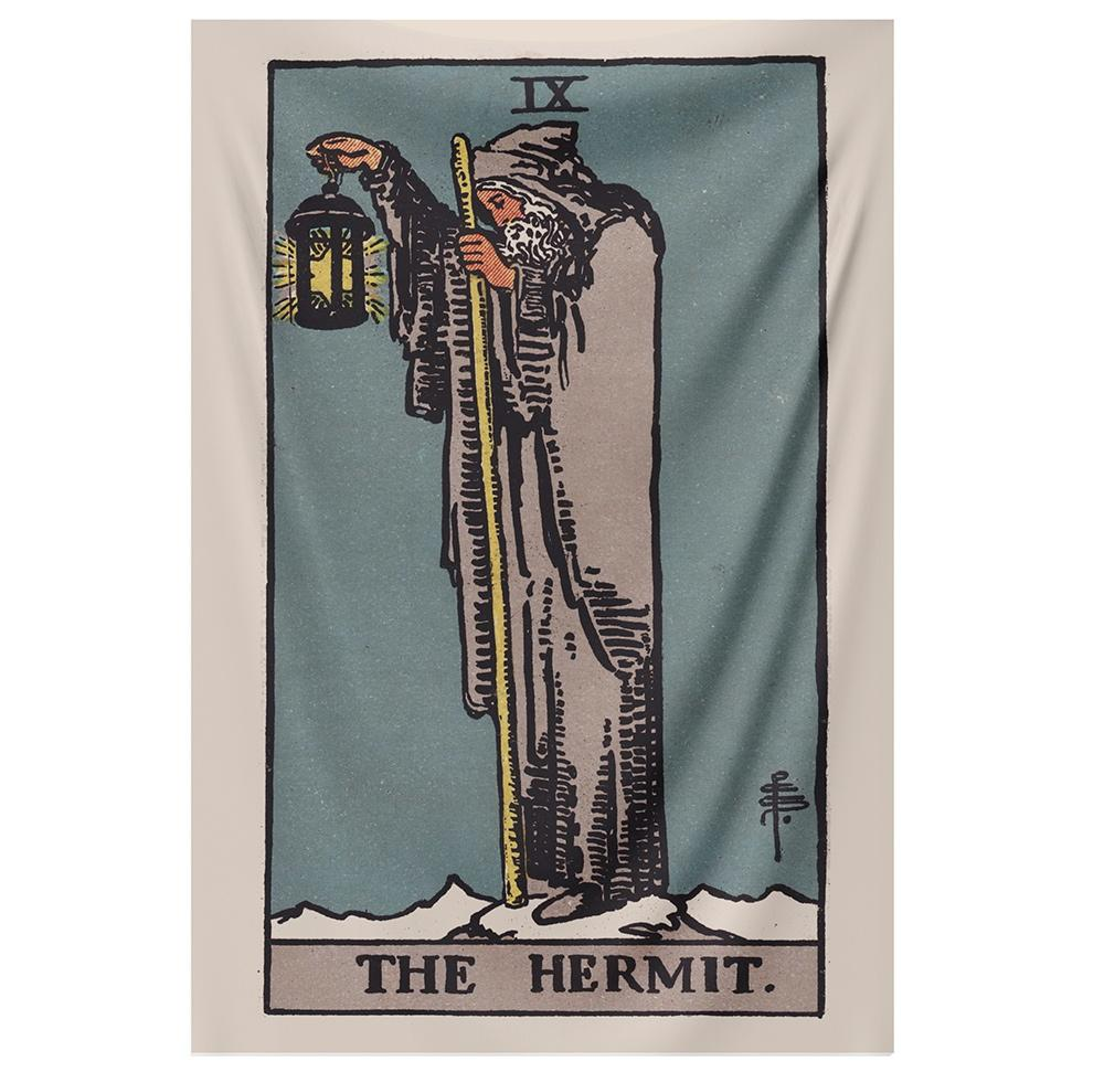 The Hermit Tapestry tapestry NirvanaThreads - YYT