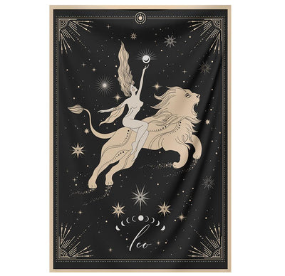 The-Leo Tapestry-is-a-great-gift-to-say-I-love-you-but-I-also-love-astrology-tarot-wall-hanging-boho-bedroom-zodiac-vibes-from-NirvanaThreads-Nirvana-Threads