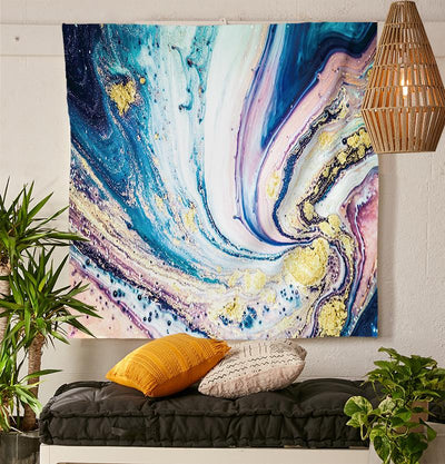 Painters Canvas Tapestry-nirvanathreads