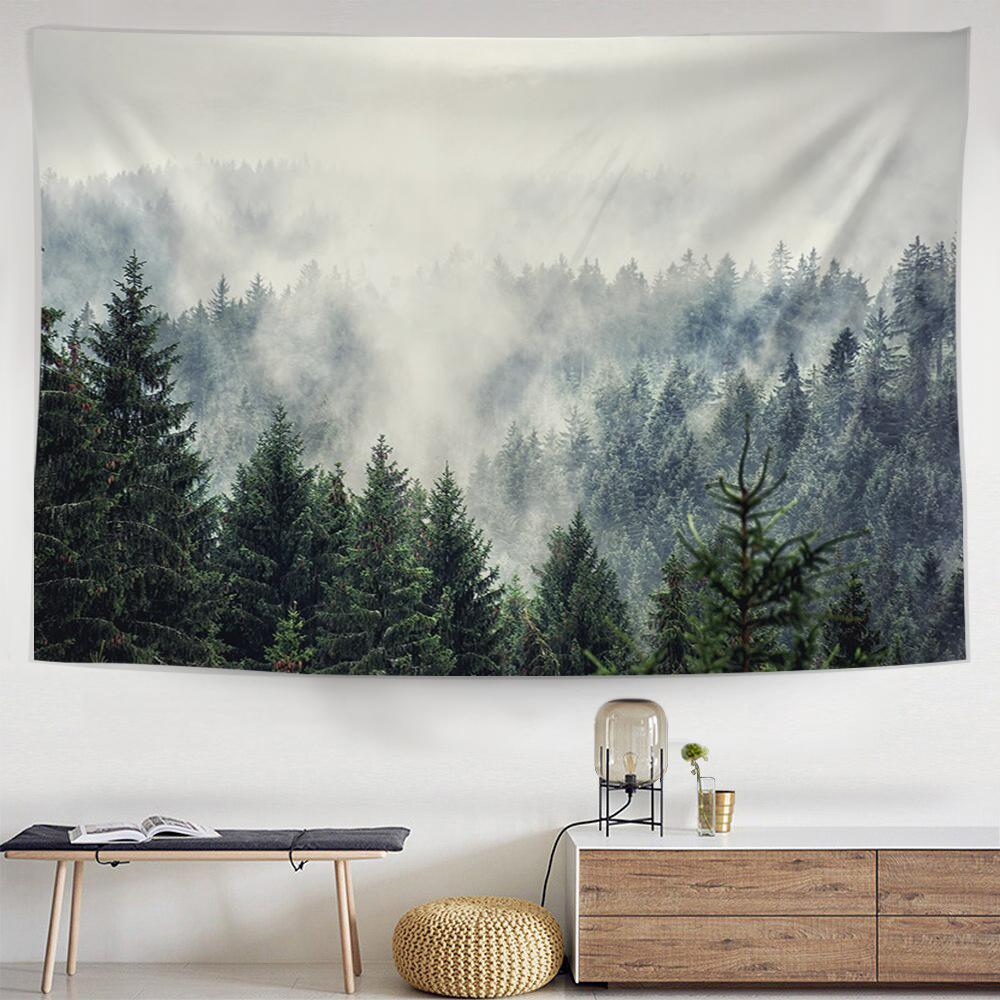 Pine Forest Tapestry-nirvanathreads