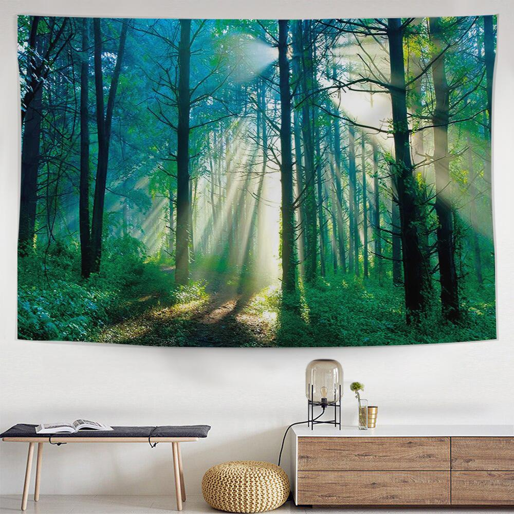 Sunlight Woods Tapestry-nirvanathreads