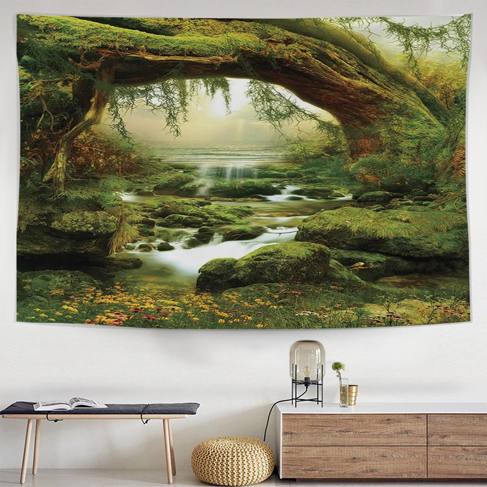 Mossy Pass Tapestry-nirvanathreads