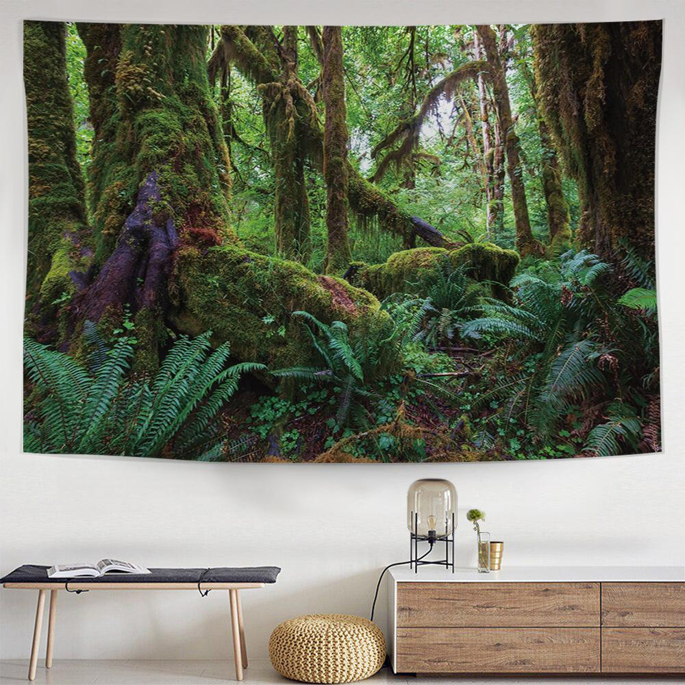 Ancient Forest Tapestry-nirvanathreads