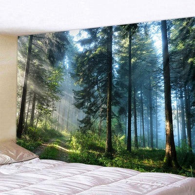 Mystic Woods Tapestry tapestry nirvanathreads