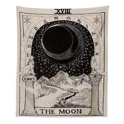 Moon Tarot Tapestry tapestry nirvanathreads 02 60 x 40 inches