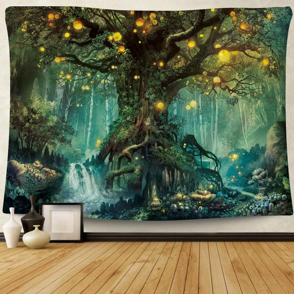 Wishing Tree Tapestry tapestry NirvanaThreads - YYT