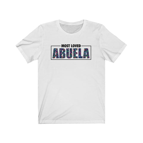 """Floral"" Most Loved Abuela Tee"