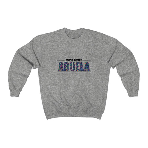 """Floral"" Most Loved Abuela Sweater"