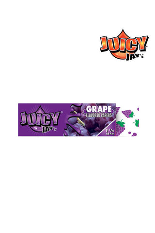 JUICY JAY'S Grape Rolling Papers 1 1/4 Size