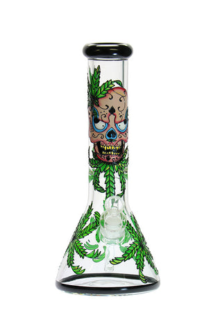 12 inch 7mm Day Of The Dead Beaker