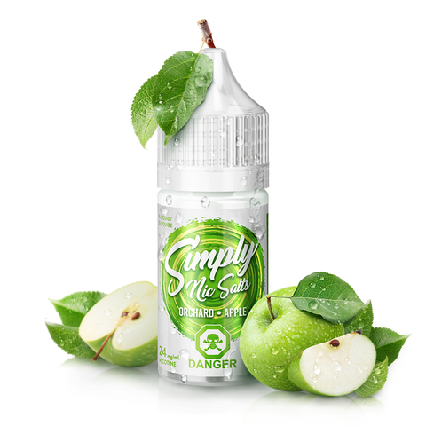 Orchard Apple By Simply Nic Salts E-Liquid Nic Salt - 30ML
