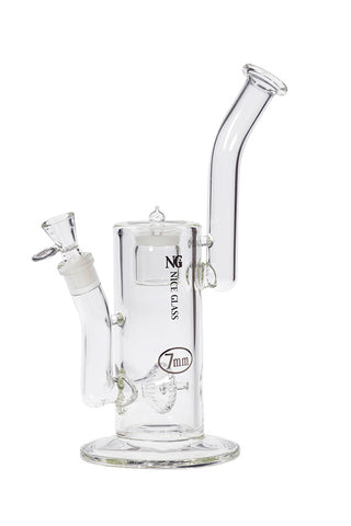 12 inch 7mm Showerhead Percolator Bubbler with Built-In Jar