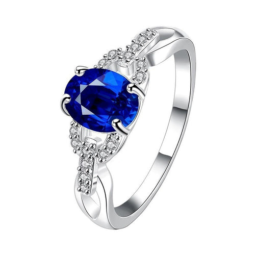 2020 New Trendy Hot Sale Exquisite artificial ZIROCN Rings For Women  jewelry Gift