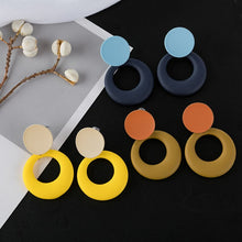 Load image into Gallery viewer, Fashion Summer New Style  drop earrings Sweet Temperament All-match  Pendant Earring Trendy Rubber  Stud earring for woman
