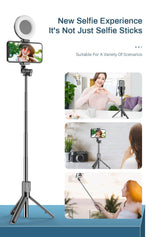Load image into Gallery viewer, Bluetooth Ring Light Selfie Kit