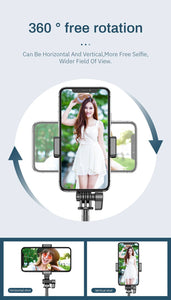 Bluetooth Ring Light Selfie Kit