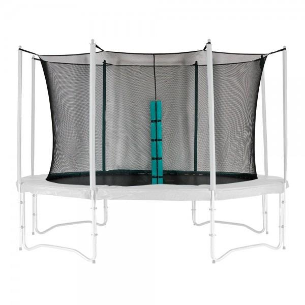 Inside trampoline net diagram