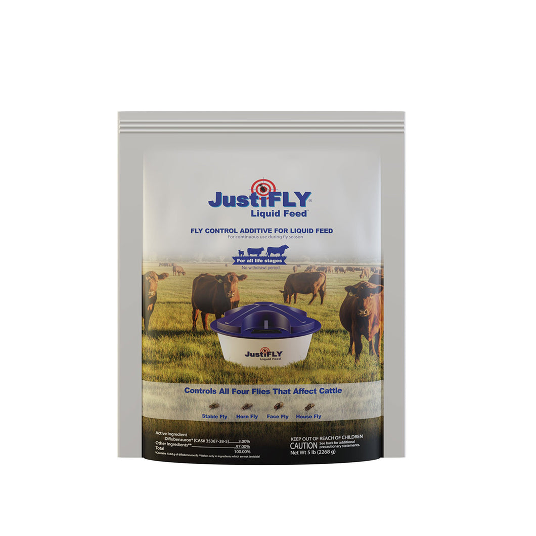 JustiFLY®  Liquid Feed 5 lb
