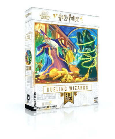 Puzzle Dueling Wizards Harry Potter New York Puzzle Company 750 pièces