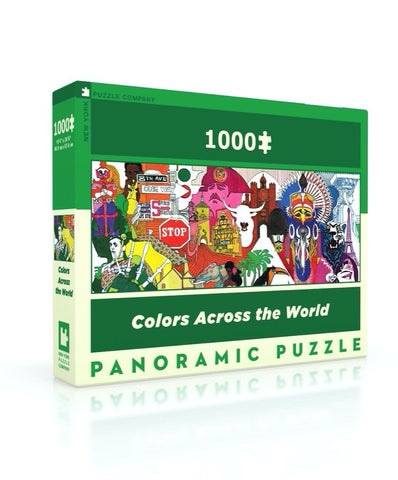 Puzzle Color Across the World New York Puzzle Company 1000 pièces