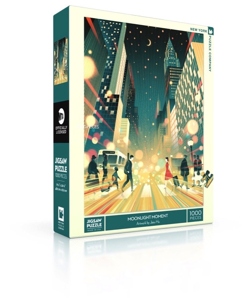 Puzzle Moonlight Moment New York Puzzle Company 1000 pièces
